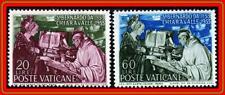 Vatican 1953 St.Bernard Sc#171-72 Mlh Cv$8.25