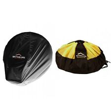 Paragliding Quick Bag ,Paramotor Quick Bag Black/Yellow And Paramotor Dust Cover