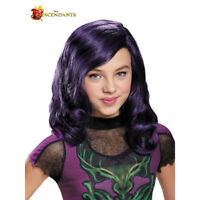 Disney Descendants Mal Isle of the Lost Girls Costume Wig | Disguise 88155