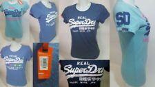 Camisetas de mujer de manga corta Superdry 100% algodón