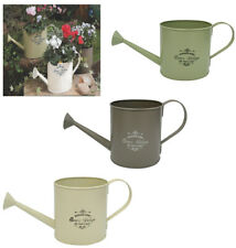 LARGE Metal Watering Can 3 Litre Vintage Retro Home Decor Planter Flowers Herbs