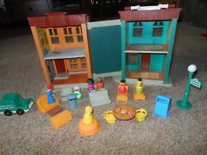 Fisher Price Vintage 1975 Sesame Street House # 938