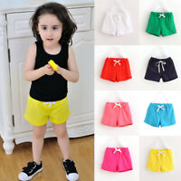 Kids Baby Child Summer Boy Girl Beach Shorts Short Pant Casual Trousers 3-8Y New
