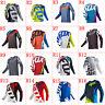 Resistance Long Sleeve Downhill Shirt Cycling Jersey motocross bike clothing