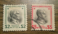 Us # 833 & # 834 - from 1938 $ 2 & $ 5