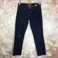 Lucky Brand Blue Wash Sofia Straight Leg Women's Jeans Size 4/27 Stretch
