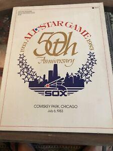 1983 All-Star Game Program Unscored
