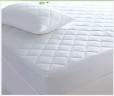 2 xSupreme Goose Feathers Down Pillows 1300gms + 200tc Pillowcases + Protectors