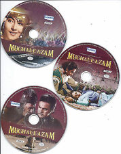 Mughal-E-Azam  - Prithviraj Kapoor, Madhubala - bollywood hindi movie 3 DVDs