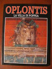 OPLONTIS -LA VILLA DI POPPEA- ediz.Carcavallo 1991