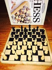 Premier Chess Set Board Game Solid Wood Hand-curved Playing Pieces Board 11X11""