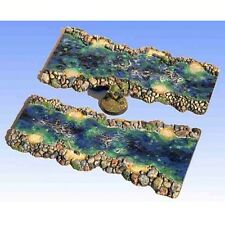 """Armorcast Resin ACRV005 2"""" to 3"""" River Transitions (2""""x6"""") Terrain Unpainted"""