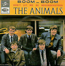 CD Single The ANIMALS	Boom boom - EP REPLICA - 4-track CARD SLEEVE - French sl