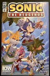 Sonic the Hedgehog #27 Wondercon Exclusive 2020 High Grade NM IDW 500 Print Run