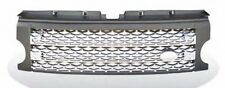 LR3 05-09 Discovery 3 Honeycomb Mesh Front Grille Land Rover L319 Gray & Silver