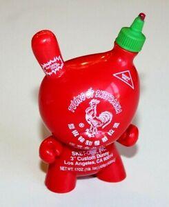 """Kidrobot Minis - Sket One Sriracha Bottle 3"""" Mini Figure - Fragile (1/24)"""