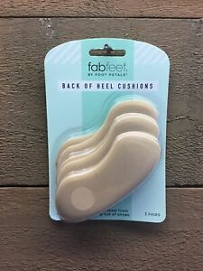 Fabfeet By Foot Petals Back Of Heel Cushions