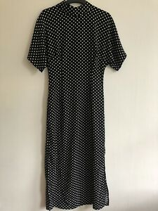 Black & White Polka Dot Dress - New With Tags - Size 8