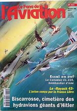 Le Fana de l'Aviation n°323- 1996 : Avions de combat à réaction 2ème Guerre