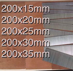 1000 Galvanized mixed 15mm/20mm/25mm/30mm/35mm Brad Nails 18 Gauge/18g