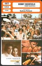BOBBY DEERFIELD - Pacino,Keller,Duperey,Pollack (Fiche Cinéma) 1977