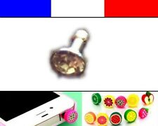 Cache anti-poussière jack universel iphone protection capuchon bouchon Diamant 1