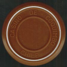 Chile Casino Chip- Casino de Coquimbo - valueless - roulette cafe claro/blanco