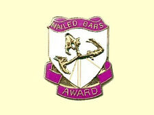 Nailed Bars Award Gymnastics Lapel Pin - Creative Design