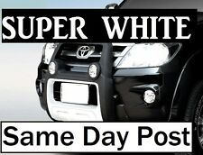 100/90Watt TOYOTA HILUX LANDCRUISER PRADO Camry Headlight Bulbs H4 Crystal WHITE