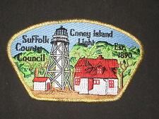 Suffolk County Council sa60 CSP.  Coney Island Light house