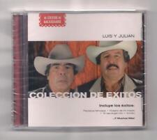 LUIS Y JULIAN - Coleccion de exitos CD rare SEALED Latin Exitos Mexicanos