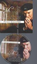 CD--PETER SEBASTIAN--ICH WILL'S WISSEN [SINGLE-CD]