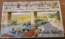 Schreibers Stehauf Bilderbuch Frohe Fahrt Copyright 1938 Kaufdatum10.06.45