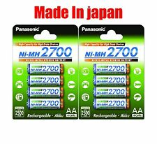 Panasonic High Capacity rechargeable AA battery Ni-MH 2700mAh 48pk wholesale