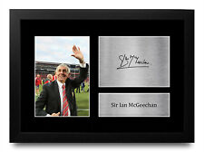 More details for sir ian mcgeechan british lions signed autograph printed a4 photo for rugby fan