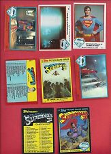 Finish your Superman set 1979 Superman series 1&2 Superman II &III pick 8 cards