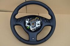 M3 M5 Steering Wheel BMW E46 E39 X5 E53 M3 M5 /// M stitching leather FUL NAPPA