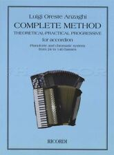 Complete Method for Accordion Sheet Music Book Luigi Oreste Anzaghi