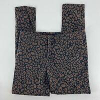 Sanctuary Animal Print Skinny Jeans Size 28 Women Pockets