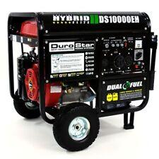 DUROSTAR DS10000EH HYBRID BI-FUEL GAS/PROPANE RV120/240-50AMP-WHEEL KIT- BATTERY