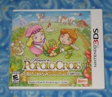 Completed Story Quests Return to PopoloCrois Nintendo 3DS Video Game Excellent