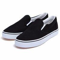 Lovers Men Women Canvas Shoes Espadrilles Plimsolls Slip on Sneakers Casual