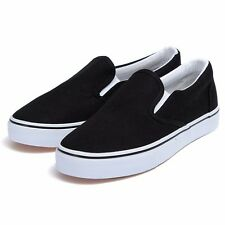 New Men Women Canvas Shoes Espadrilles Plimsolls Slip On Sneakers Leisure 00