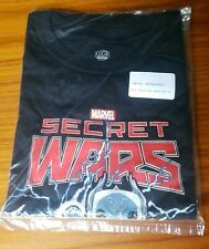 Funko Pop Tees Marvel Secret Wars Men's XL T-Shirt Black Collector Corps New NIP