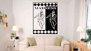 Ska man 2 Rude Boy Mod, Skin Ska style Vinyl wall art Decal Sticker