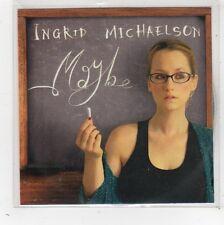 (FW674) Ingrid Michaelson, Maybe - 2009 DJ CD