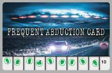 UFO Alien Frequent Abduction Novelty Drivers License ID Card Area 51 Roswell