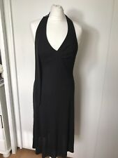 Ted Baker Womens Black Halterneck Cocktail Party Races Dress Size 10 Ted Size 2