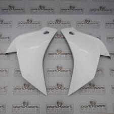 HONDA CBR125R CBR150R FRONT LEFT + RIGHT FAIRING PANEL COVER ROSS WHITE 2011 - 2