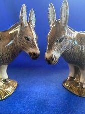 Donkey Salt and Pepper Set - Donkey Cruet - Highly Detailed - New